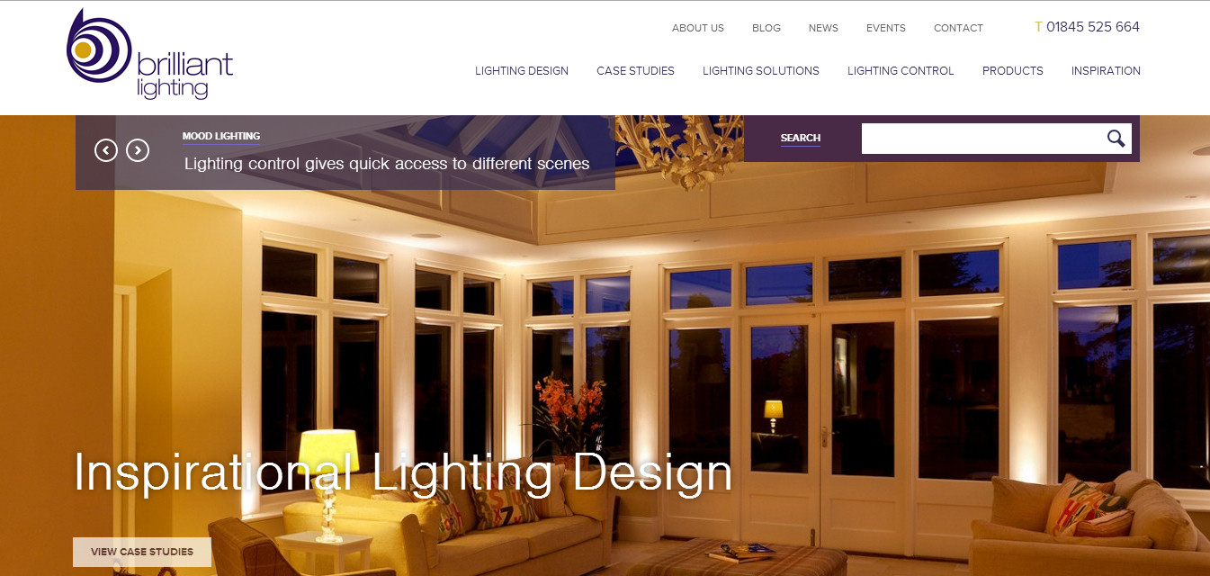 Brilliant Lighting Site