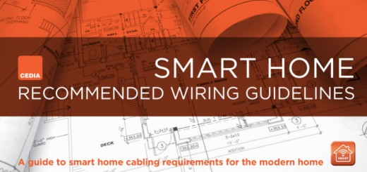 CEDIA Smart Home Recommended Wiring Guidelines